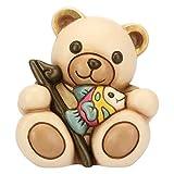 THUN ® - Teddy Pescatore - Ceramica - h 9,2 cm - Linea I Classici
