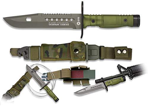 Green K25 Messer. Gesamtgröße : 30,7 cm