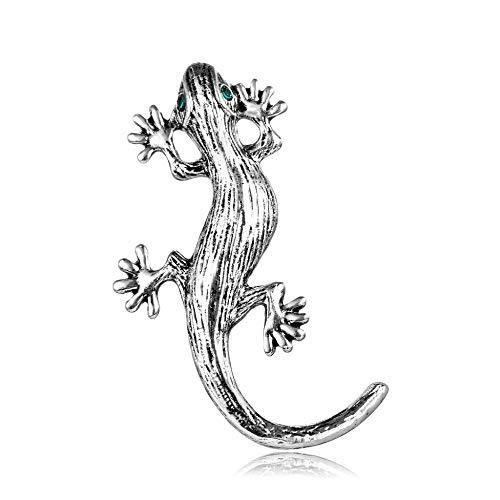 YRFZ Broschen & Anstecknadeln In Bijouterie Für Damen Damenbrosche Für Damen Damenbroschepersonality Lizard Gecko Brooch Fashion Patina Plated Animal Brooch