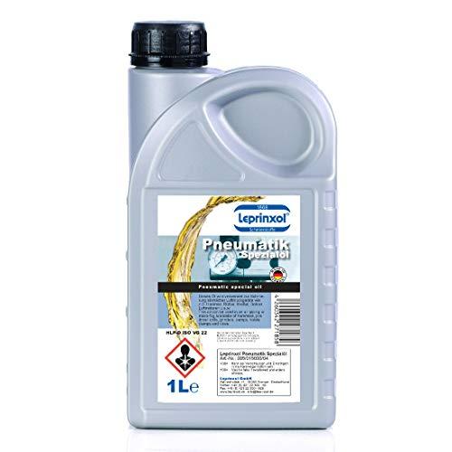 1 Liter Leprinxol Pneumatik Spezialöl: Schmierung Werkzeugöler, Druckluftwerkzeuge, Druckluftgeräte, Leitungsöler, Druckluftöler, Miniöler, Ölnebler, Öler, Schlagschrauber Luftdruckwerkzeuge. 1000 ml