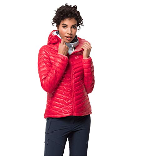 Jack Wolfskin Damen Atmosphere JKT W Daunenjacke, Clear red, L