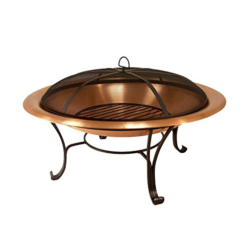 "Catalina Creations AD112 30"" Solid Copper Fire Pit, 30..."