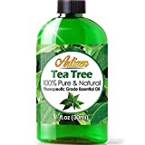 Artizen Tea Tree Essential Oil (100% PURE & NATURAL - UNDILUTED) Therapeutic Grade - Huge 1oz Bottle...