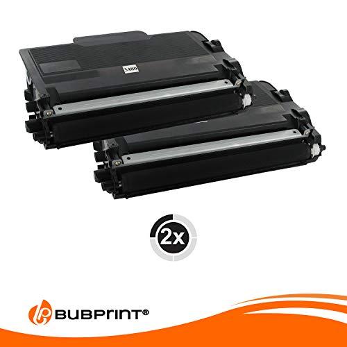 2 Bubprint Toner kompatibel für Brother TN-3480 TN-3430 DCP-L5500DN HL-L5000D HL-L5100 HL-L5100DN HL-L5100DNT HL-L5100DNTT HL-L5200DW HL-L6400DW MFC-L5700DN MFC-L5750DW MFC-L6800DW Schwarz