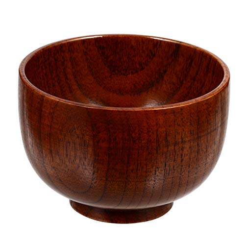 Healifty Shaving Soap Bowl Wood Thicken Shave Soap Cup Unbreakable Shaving Mug Shaving Soap Container Lathering Bowl for Wet Shave
