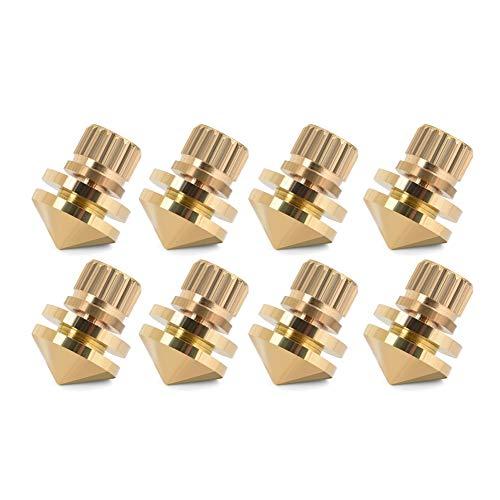 Tihebeyan luidsprekerset spike pad, bodem van koper, isolatie luidspreker, spike, standaard voor box-tips, voor hifi-apparaten