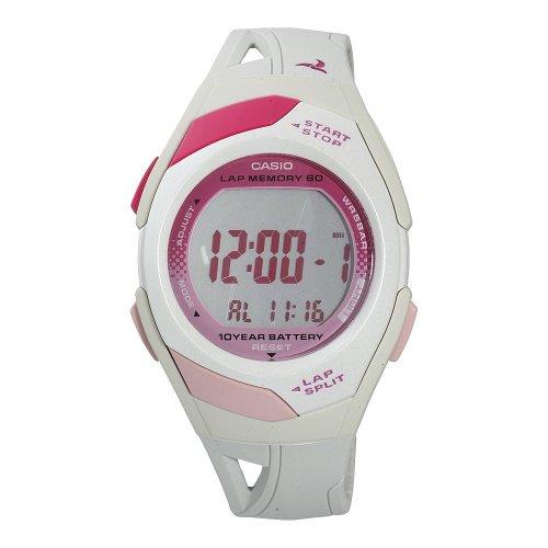 Casio STR-300-7EF, funzione illuminazione, sveglia e cronometro - Orologio da donna