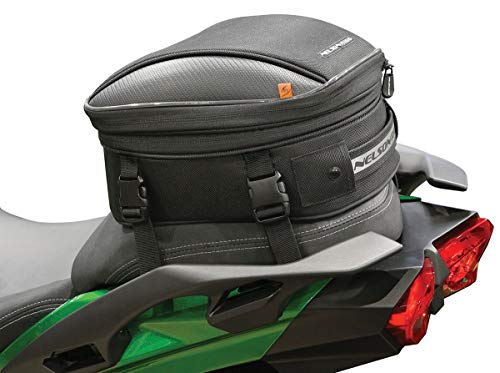 Nelson-Rigg CL-1060-R Black Commuter Lite Motorcycle Tail/Seat Bag