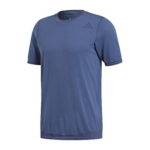 adidas Freelift Primek Camisa de Golf, Hombre, Azul (azretr), S