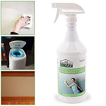 Chomp Painted Wall Cleaner Spray  Healthier Home 5-Minute CleanWalls 4-in-1 Multipurpose Cleaner - Painted Wall Ceiling and Baseboard Cleaning Spray - Dirt Dust Odor and Stain Remover - 32 Ounces