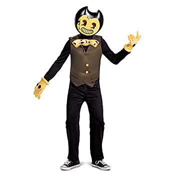 Bendy Costume for Kids Bendy and The Dark Revival Classic Size Small  4-6
