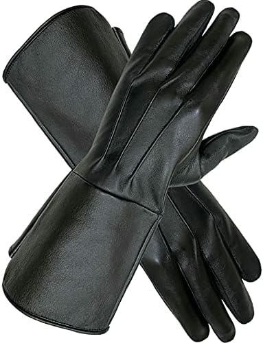 Men's Steampunk Accessories: Googles, Cane, Gloves MENS MEDIEVAL RENAISSANCE COSPLAY SWORDSMAN STEAMPUNK UNLINED LEATHER GLOVES GAUNTLETS  AT vintagedancer.com