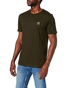 BOSS Herren Tales T-Shirt, Grün (Open Green 346), L