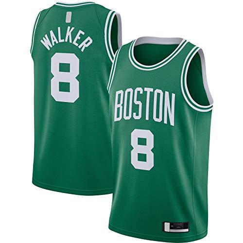 QIANDA Jersey Baloncesto Kelly Verde #Nombre? Personalizado #8 2020/21 Swingman JerseyClothing Edición Icono