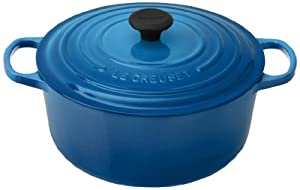 45-percent larger handles that provide a sure grip, even with oven mitts The superior heat distribution and retention of le creuset enameled cast iron; Heat Source : Ceramic Hob, Electric Hob, Gas Hob, Grill, Oven safe, Induction hob An advanced sand...