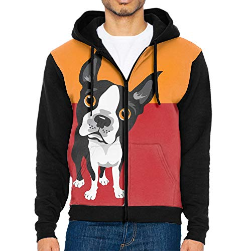 Best mens hoodies graphic boston terrier for 2020