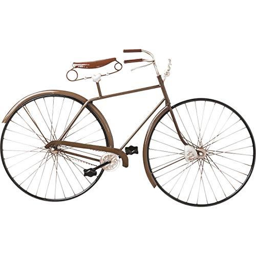 Kare Decoración de Pared Vintage Bike, Marrón, 49 x 5.5 x 89.5 cm