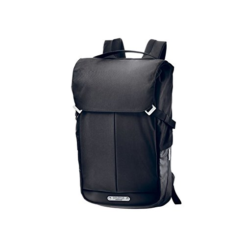 Brooks England Pitfield Mochila, Unisex Adulto, Negro, M