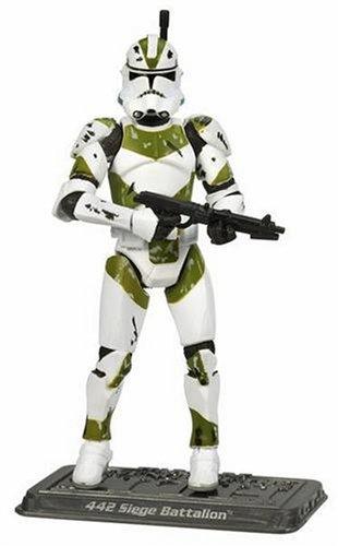 Star Wars – Colección Saga – Figura básica – Clone Trooper 442nd Asedio Batallón