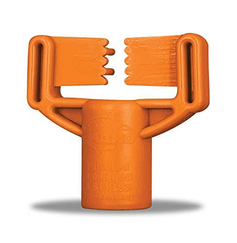 "MAKO Concrete Jaws RailFin Screed Chair for 1/4"" Flat bar Steel - 100 Pieces per Bag"