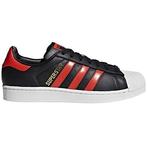 adidas Men's Superstar Fitness Shoes, Black (Negro 000), 7.5 UK