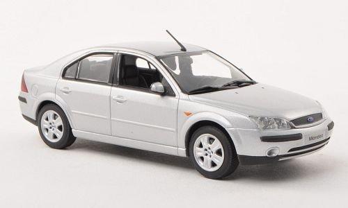 Ford Mondeo MKIII, silber, Stufenheck, 2001, Modellauto, Fertigmodell, Minichamps 1:43