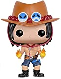 Funko POP Anime: One Piece Portgas D. Ace Action Figure,Multi-colored,3.75 inches