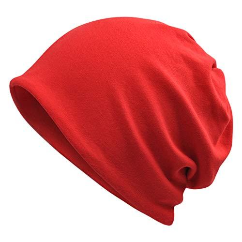 Goddness Bar Bonnet de Sommeil élégant Beanie Hat Scarf Casquette Polyvalente pour Le Plein air, Le Cyclisme, Les Cheveux crépus (A32)