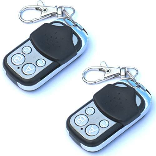 2 STK. QL1® 111-004 Ersatz Handsender für Tedsen/Teletaster: SKX1, SKX2, SKX3, SKX4,SKX1LC,SKX2LC,SKX3LC,SKX4LC,SKX1MD,SKX2MD,SKX3MD,SKX4MD,SKX8MD,SKX1HD,SKX2HD,SKX4HD,SKX6HD Fixcode 433,92MHz