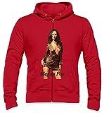 Megan Fox Hot Mens Zipper Hoodie Small