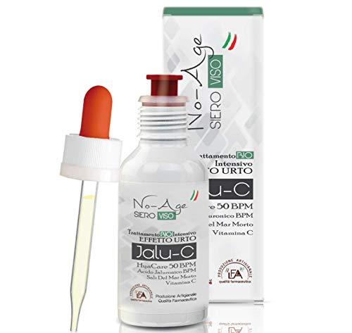 LFA - LABORATORI | Siero Viso Antirughe | Acido Ialuronico Puro 100%, Vitamina C e Sali | 30 ml