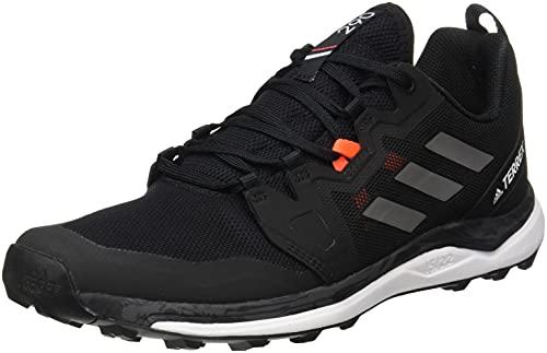 adidas Terrex Agravic W, Zapatillas de Trail Running Mujer, NEGBÁS/Gricua/Rojsol, 37 1/3 EU