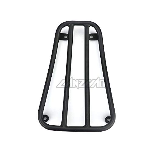 Felicey Perfectly applicable Motorcycle Foot Rest Luggage Rack Case Shelf Holder Black for Pia.ggio Ves.pa GTS 300 2017 2018 2019 Scooter Accessories Stylish Design