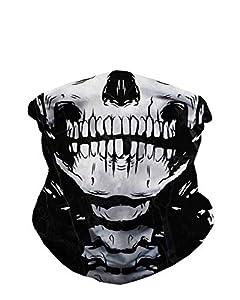 iHeartRaves Skeleton X-Ray Skull Multi-functional Seamless Rave Mask Bandana