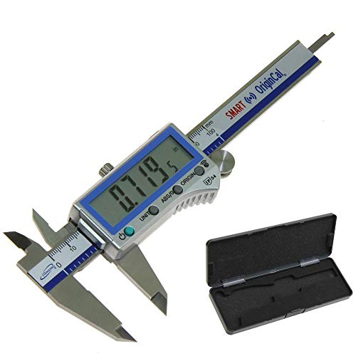 iGaging Digital Electronic Caliper Absolute Origin Smart Bluetooth Connectivity - IP54 Protection/Extreme Accuracy (4
