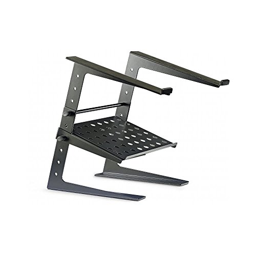 Stagg 22225 DJS-LT20 DJ Laptop Stand with Height Adjustable Tray