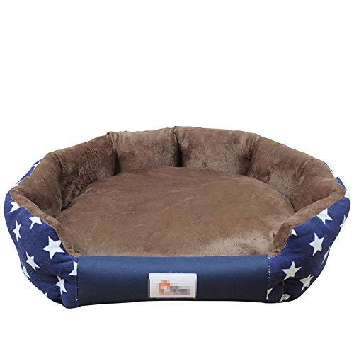 Bed Zachte waterdichte matten voor kleine middelgrote honden Herfst Winter Huisdierbedden Hondenhuis Kattenbed