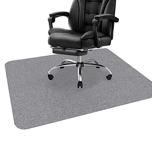 Alfombrilla para silla de oficina de 4 mm de grosor para suelos de madera dura, alfombra multiusos para el hogar, alfombrilla protectora de piso de 59 x 44 cm, lavable y duradera