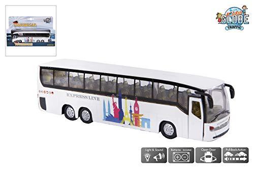 Alpha Toys 510761 –Maqueta autobús, colores aleatorios