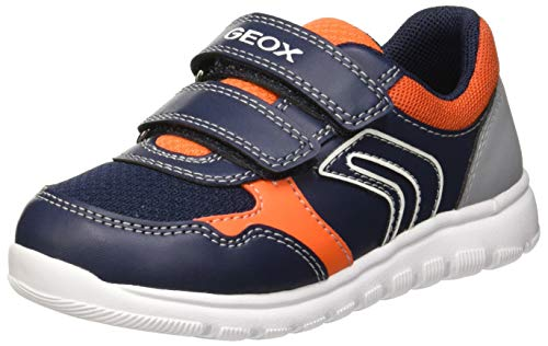 Geox Baby Jungen B Xunday Boy B Sneaker, Blau (Navy/Orange C0659), 25 EU