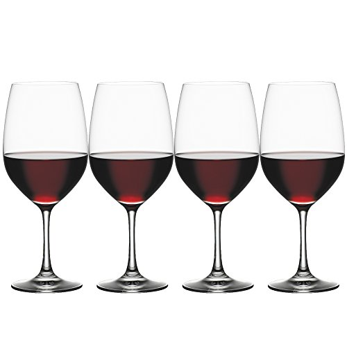 Spiegelau & Nachtmann, 4-teiliges Bordeauxglas Set, Kristallglas, 620 ml, Vino Grande, 4510277