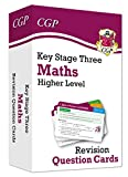 New KS3 Maths Revision Question Cards - Higher: perfect for catch-up and learning at home (CGP KS3 Maths)