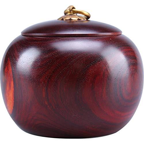 llddrz Urna de madera para mascotas, urna conmemorativa para cenizas, marco de caja de recuerdo para gatos y perros, suministros de ataúdes funerarios