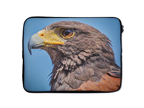 Animal Laptop Sleeve Case 9 10 11 12 13 14 15 15.6 Inch Tablet Computer Protective Zipper Bag Slide Through Pouch - for MacBook Air Pro Dell Lenovo Hp LG Asus Acer Chromebook