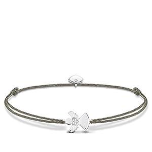 Thomas Sabo Damen-Armband Little Secret Engel 925 Sterling Silber LS037-401-5-L20v