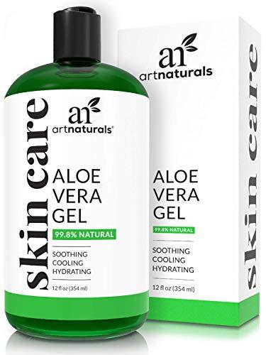 ArtNaturals Organic Aloe Vera Gel - (12 Fl Oz / 355ml) - for...