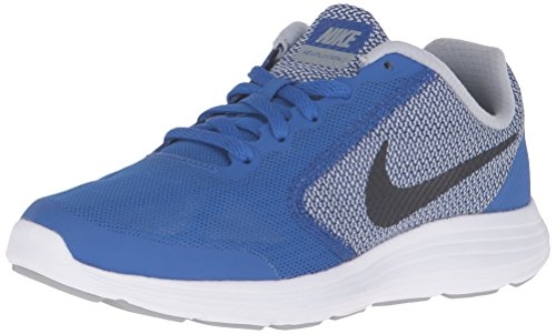 Nike Revolution 3 (Gs) Lauflernschuhe, blau, 40 EU