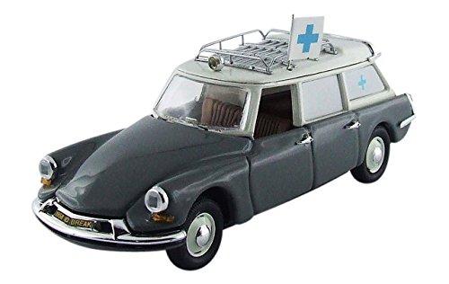 Rio - 4447 - Véhicule Miniature - Modèle À L'échelle - Citroën DS 19 Ambulance Municipale - 1962 - Echelle 1/43