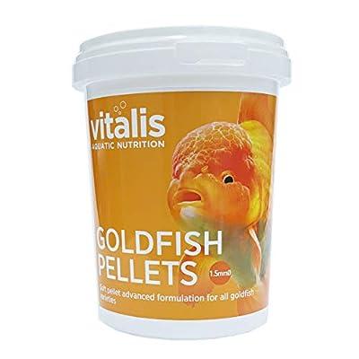 Vitalis Goldfish Pellets (1.5mm) 260g Fish Food