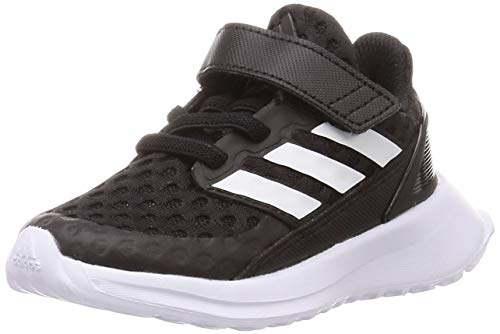 adidas Unisex RapidaRun EL I Laufschuhe Baby Running, Schwarz Kern Schwarz FTWR Weiss FTWR Weiss, 22 EU